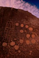 Petroglyph Cluster by tcore