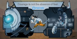 Courage... by youlootamax