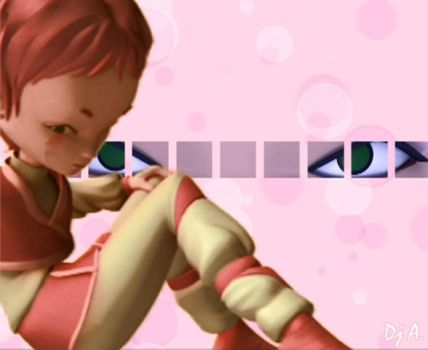 Aelita Wallpaper. by LyokoWarrior1