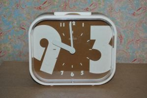 1970's alarm clock STOCK by Theshelfs