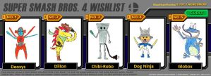 SSB4 wishlist Creatures by BlazeHeartPanther