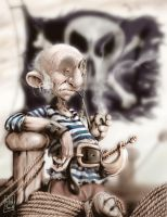 The old pirate by Schildom