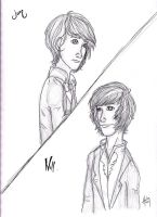 Will Herondale + Jem Carstairs by blindbandit5