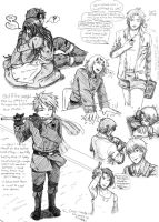 APH: OSH- idea sketches 3 by elf-artist87