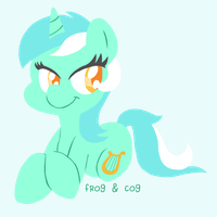 Lyra Heartstrings by FrogAndCog