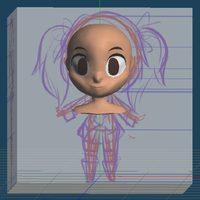 Chibi Jani wip 01 by BottledWottle