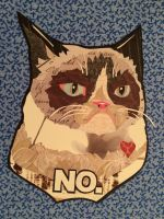 For Sale: Grumpy Cat by cocolocodesigns