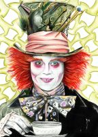 The Mad Hatter by Skeksy