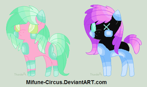Name Your price Chibi Ponies Batch 3 (Open)~ by Mifune-circus