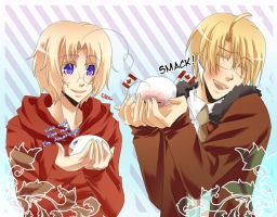 APH - More Mochi Fun by Hetalia-Canada-DJ
