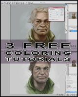 3 FREE Vid tutorials  Coloring by randis