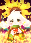 Undertale Asriel by AoiKen