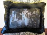 Aesthetic Intervention by Shades-Of-Lethe Pillow by ObsidianRavenShadow