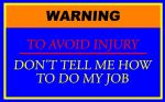 Warning Sign Design by CLPennelly