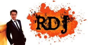 RDJ Wallpaper - Orange by ConceptJunkie124