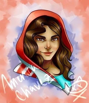 America Chavez by ReptarOnIce