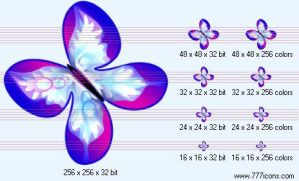 Butterfly Icon by science-icons