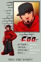 16 bit_pixel Foo_ID by FooRay