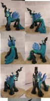 Queen Chrysalis - Custom (Finished,Painted) by jeffyjhon