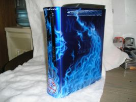 xbox 360 flame job by chrisfurguson