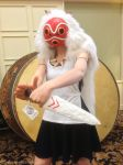Princess Mononoke at Arcade Con by JenniferMulkerrin