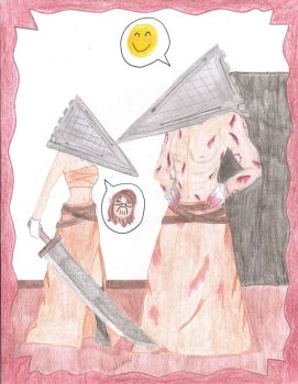 Dress-Up Time With Pyramid Head by Winters-Butterfly