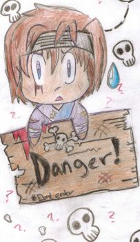 Hikaru and the danger sign by Devlin18