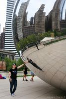 First Time at Cloud Gate by BengalTiger4