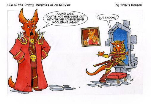 Gaming Dad's .... rpg comic by travisJhanson