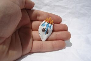 Ice king Pin or Pendant by ArtNinja101
