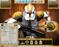 Star Wars Desktop by a666a