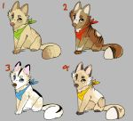 Cheap (ish) Point Adopts (1/4 open) - Canine by PointAdopts-AO