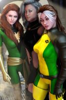 Women of the X by CodenameZeus