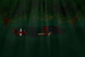 gamist asleep in the forest by GamistTH
