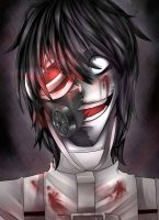 Jeff the killer- .:iNSaNiTY:. by LouaSmourbif