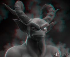 Demon (anaglyph) by aemiliuslives