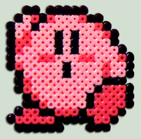 Kirby - Bead Sprite by XinMyForehead