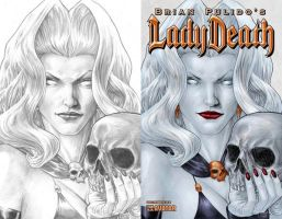 Lady Death Blacklands 1 by gabrielguzman
