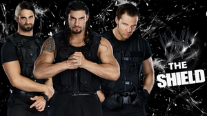 The shield wallpaper by jithinjohny