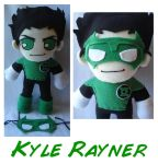 Kyle Rayner Plush by rosey-so-silly