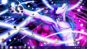 new desktop by Ratchetluver13