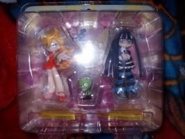 Panty and Stocking figures by KittyChanBB