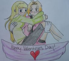 Happy Valentines Day! by CopperLetters