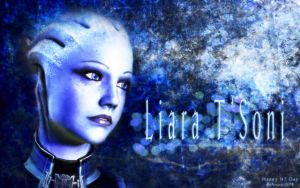 N7 Day - Liara by Belanna42