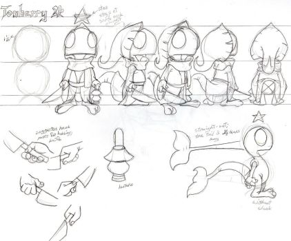 Tonberry2k Character Turnaround by SmithyGCN