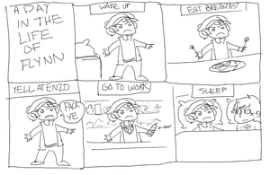high quality comic by iously