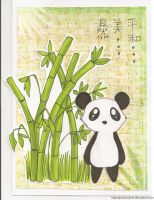 Panda Card by Good-Anime