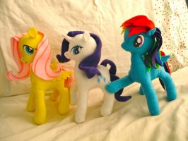 My First Ponies by dollphinwing