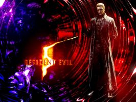 Resident Evil 5 Albert Wesker by DANCE-of-COBRA