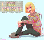 She feels fantastic by Ionixis